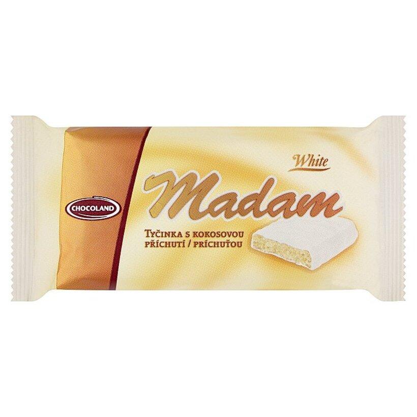 Chocoland Madam White tyčinka s kokosovou príchuťou 100 g