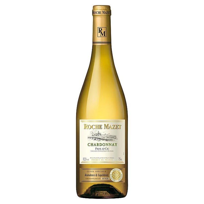 Roche Mazet Chardonnay Cuvée spéciale odrodové suché víno biele 0,75 l