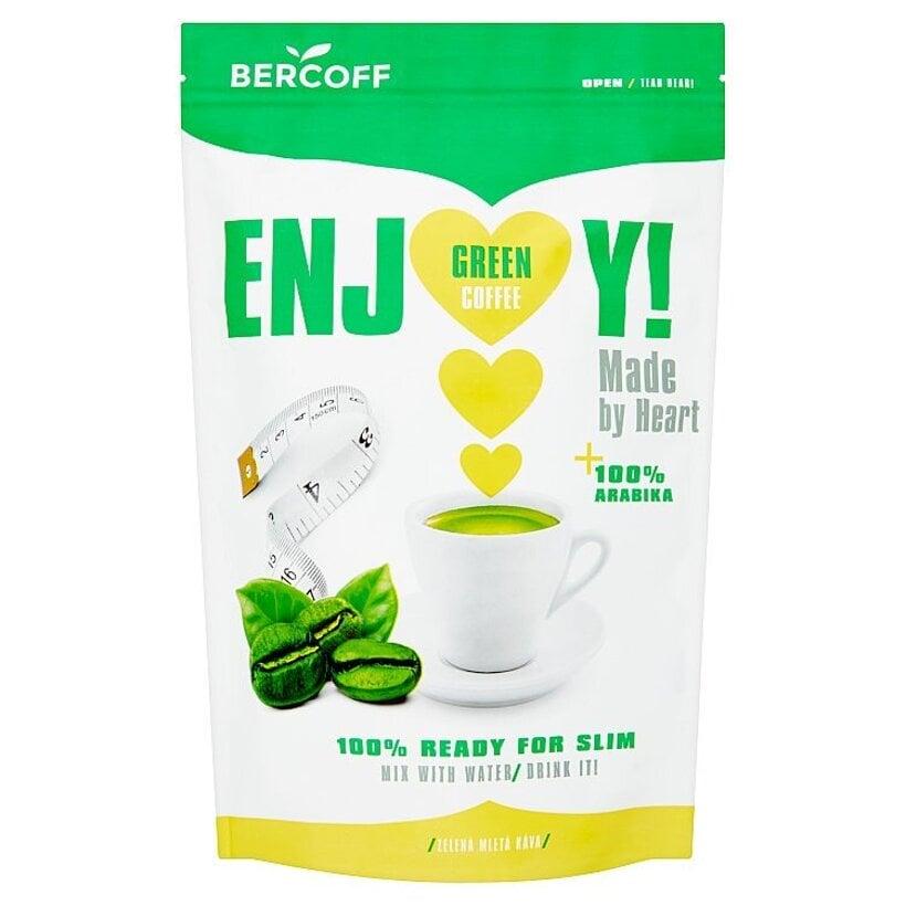 Bercoff Zelená mletá káva 250 g