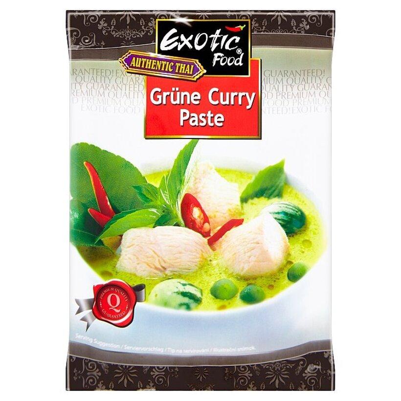 Exotic Food Authentic thai green curry paste koreniaci prípravok 50 g