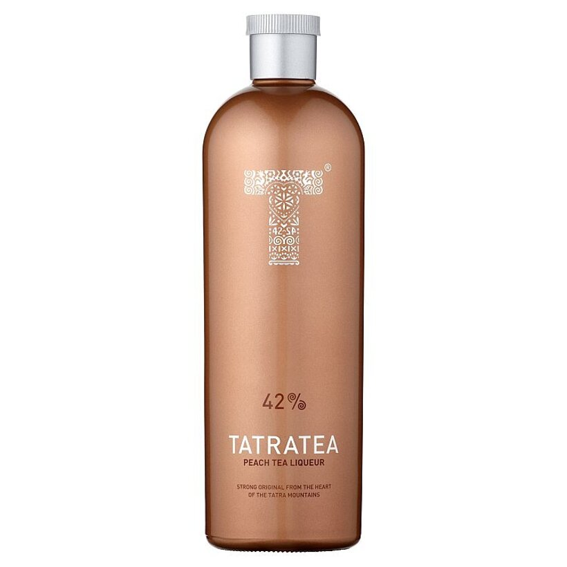Karloff Tatratea 42% peach 700 ml