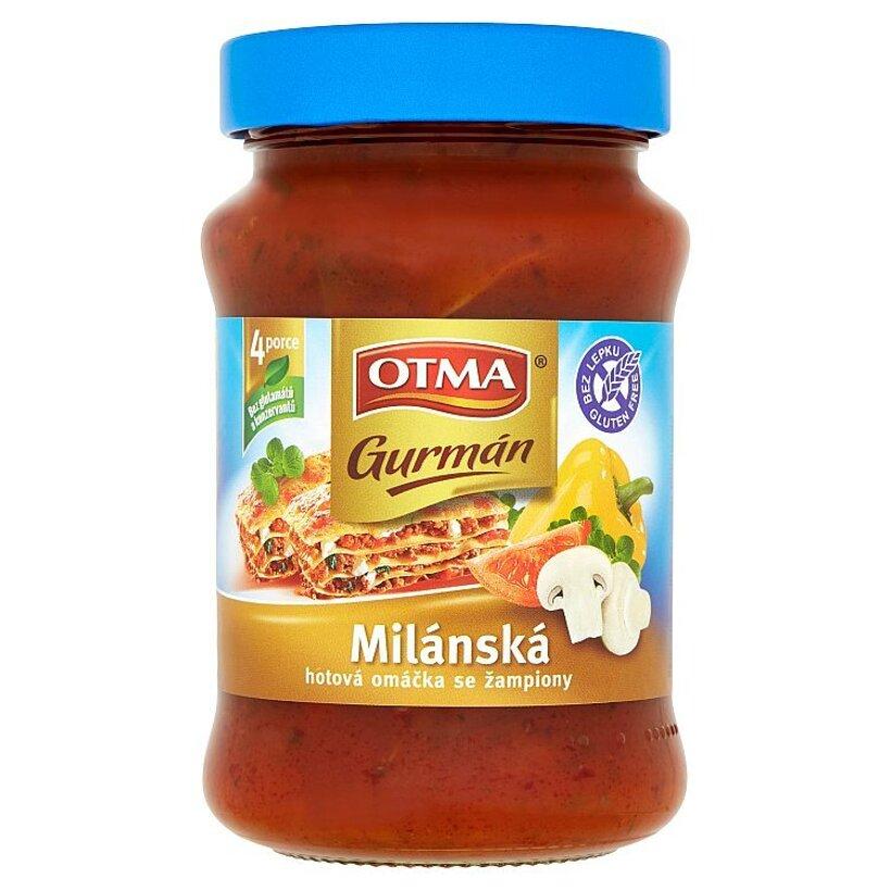 Otma Gurmán Milánska hotová omáčka so šampiňónmi 350 g