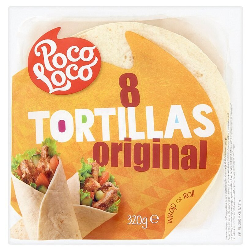 Poco Loco Tortilly z pšeničnej múky 320 g