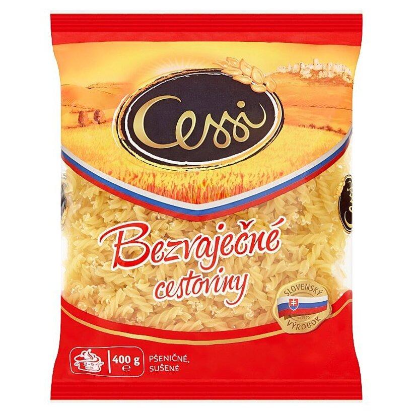 Cessi Bezvaječné cestoviny pšeničné, sušené vretienka 400 g