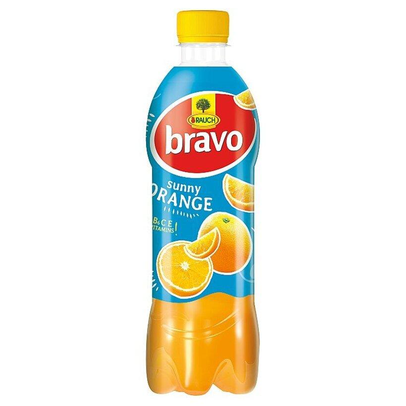 Rauch Bravo Sunny pomaranč 10% 0,50 l
