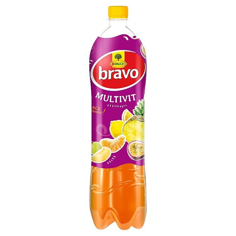 Rauch Bravo Multivitamín ACE 12% 1,50 l