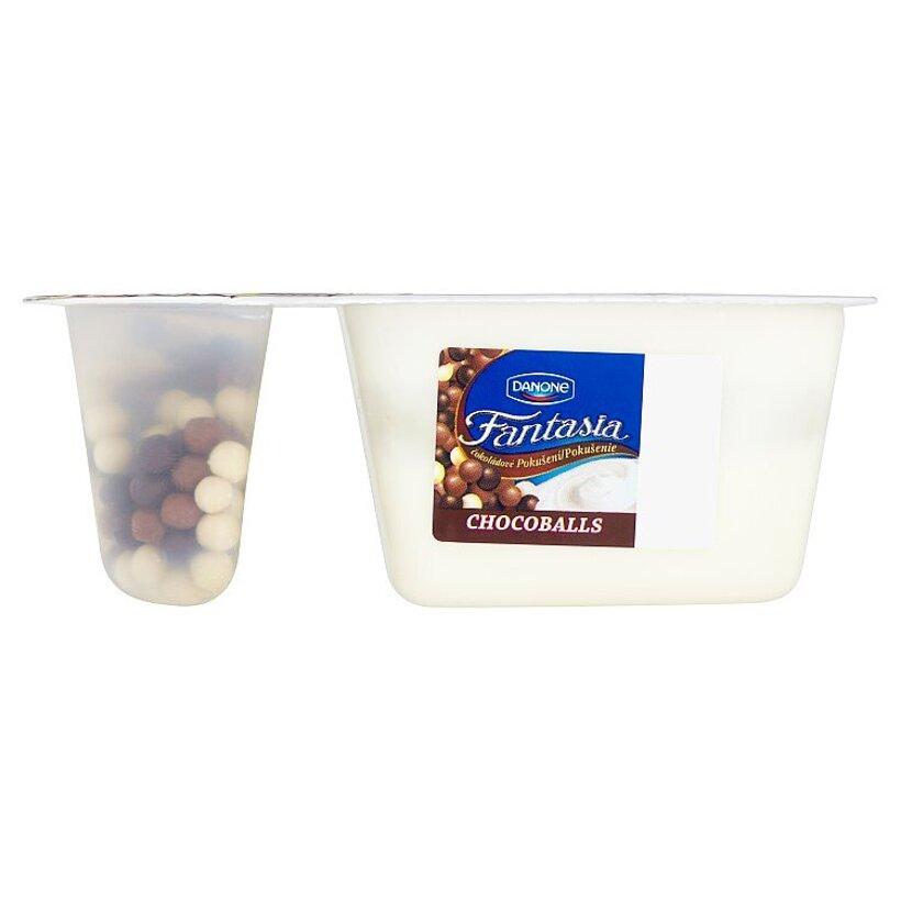 Danone Fantasia Čokoládové pokušenie chocoballs 100 g