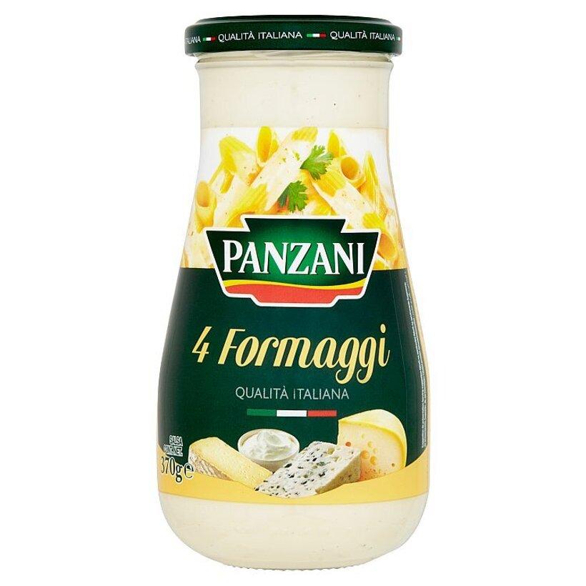 Panzani 4 Formaggi hotová omáčka so smotanou a 4 druhmi syra 370 g