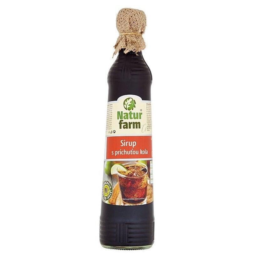 Natur Farm Sirup s príchuťou kola 0,7 l