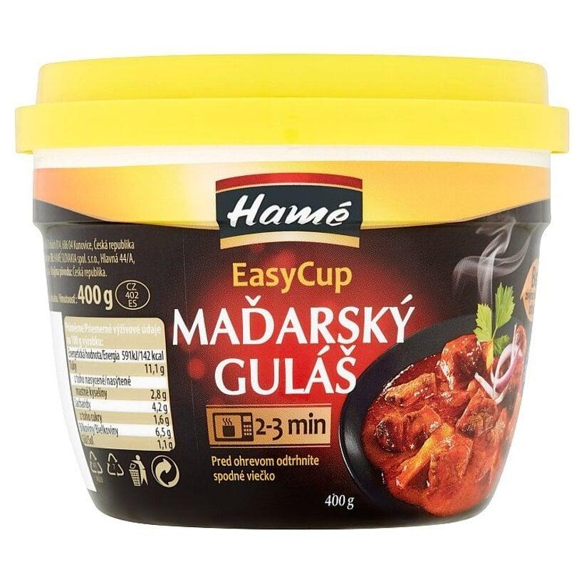 Hamé EasyCup Maďarský guláš 400 g