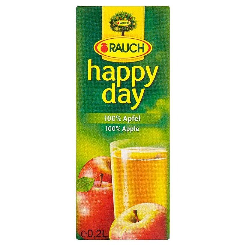 Rauch Happy Day 100% jablková šťava 0,2 l