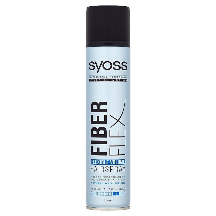 Syoss lak na vlasy Fiberflex Flexible Volume 300 ml