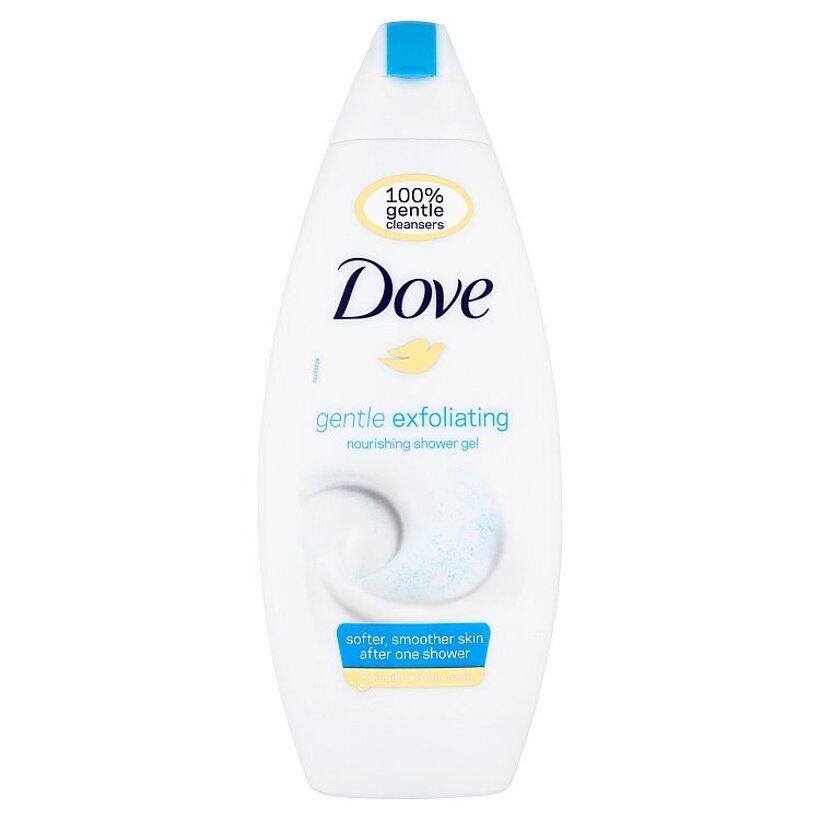 Dove Gentle Exfoliating vyživujúci sprchovací gél 250 ml