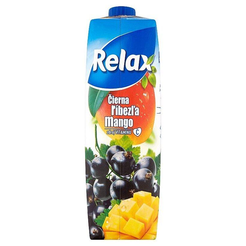 Relax Čierna ríbezľa mango 1 l