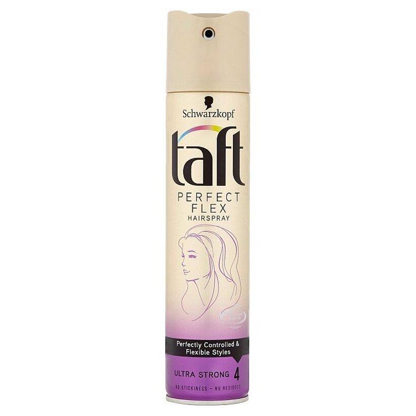 Taft Perfect Flex lak na vlasy Ultra Strong 4 250 ml
