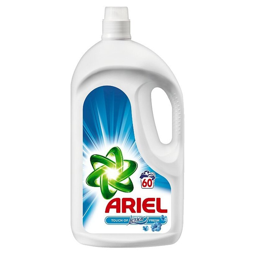 Ariel Touch Of Lenor Fresh Tekutý Prací Prostriedok 3,9 l Na 60 Praní