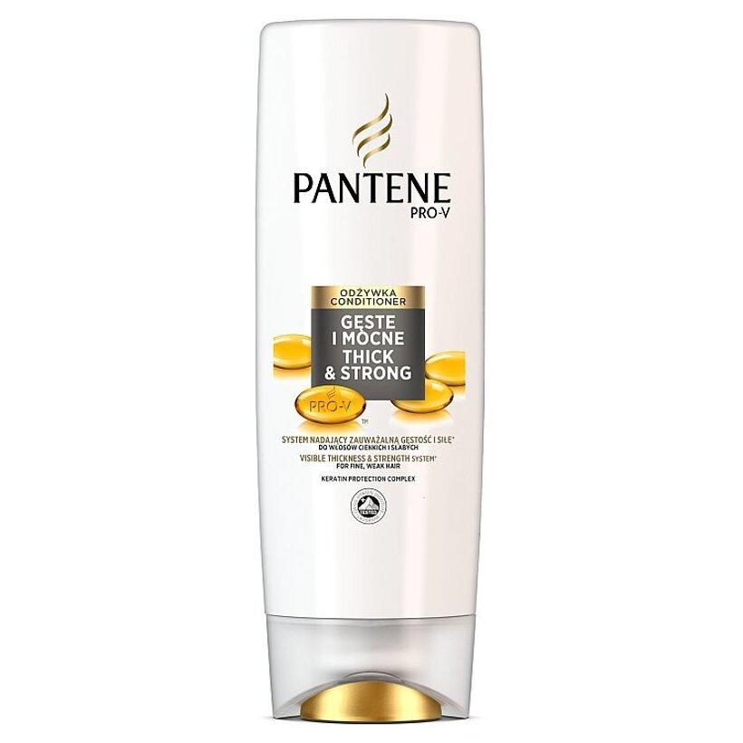Pantene Pro-V Thick & Strong Balzam Na Jemné A Oslabené Vlasy 360 ml