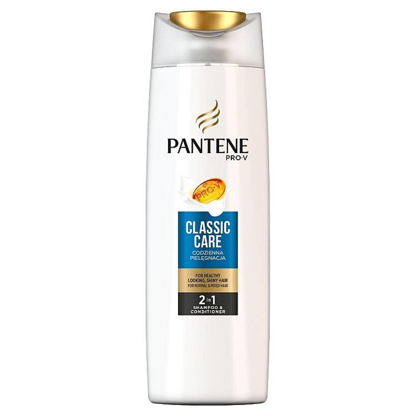 Pantene Pro-V Classic Care Šampón ABalzam 2v1 Na Normálne A Zmiešané Vlasy  400 Ml