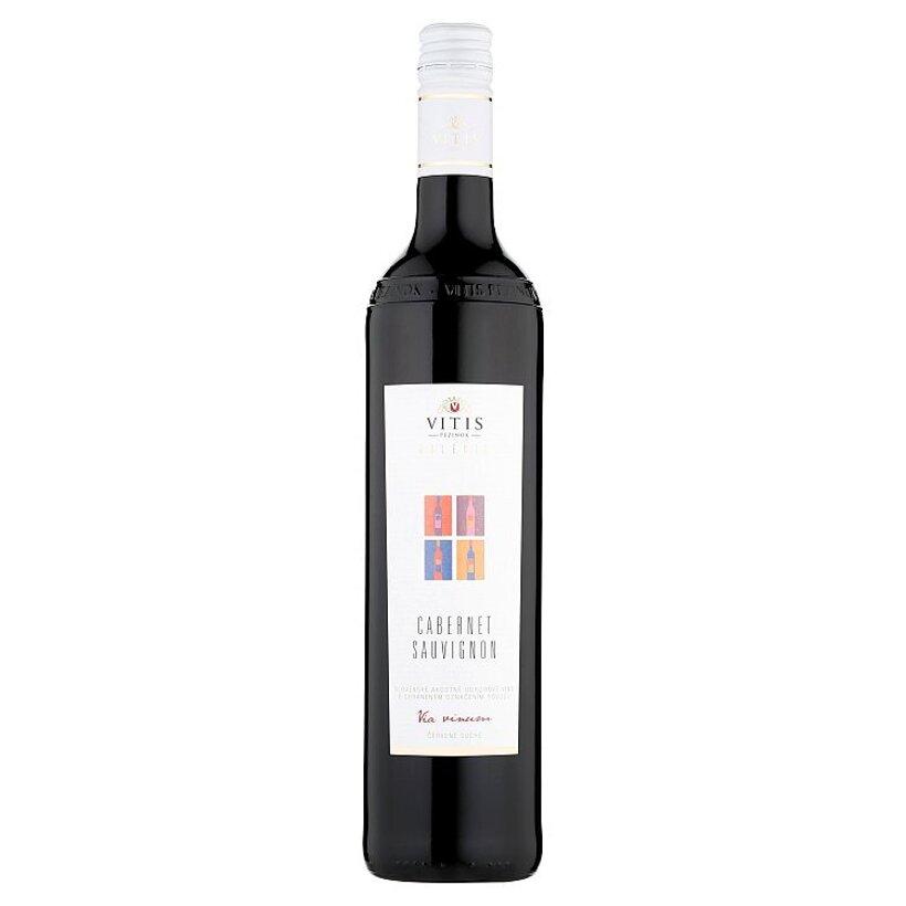 Vitis Pezinok Galéria Cabernet Sauvignon akostné odrodové víno červené suché 0,75 l