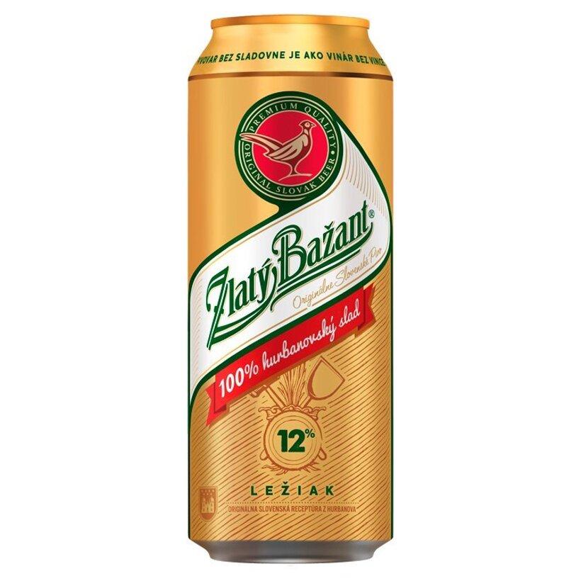 Zlatý Bažant 12 % pivo svetlý ležiak 500 ml