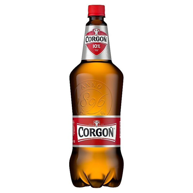 Corgoň 10% svetlé pivo PET 1,5 l