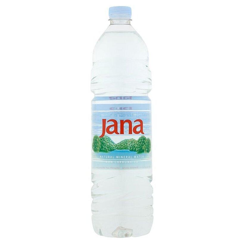 Jana Prírodná minerálna voda nesýtená 1,5 l