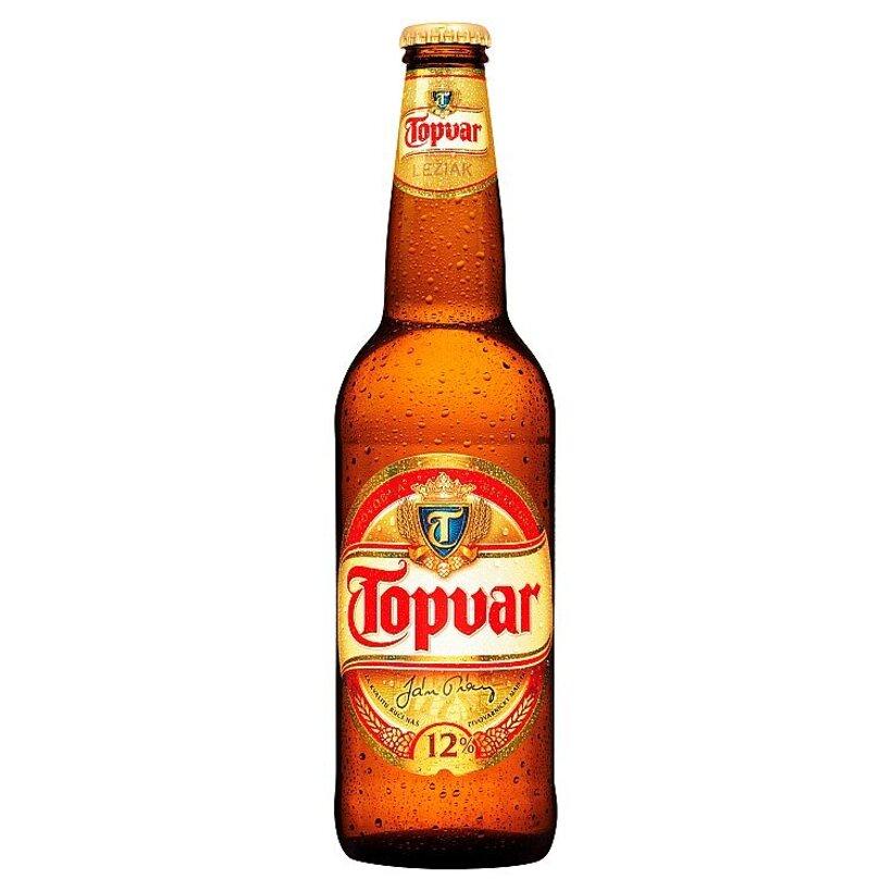 Topvar Svetlé pivo 12% 500 ml
