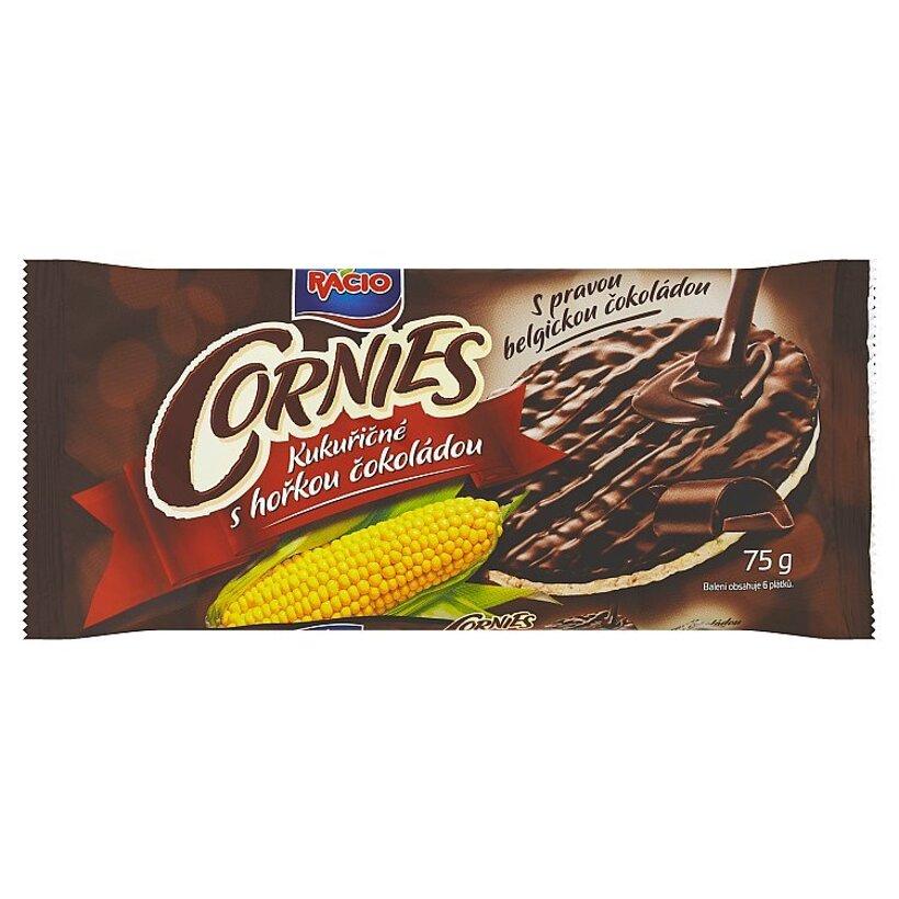 Racio Cornies kukuričné chlebíčky s horkou čokoládou 75 g