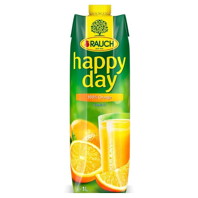 Rauch Happy Day 100% pomaranč 1 l