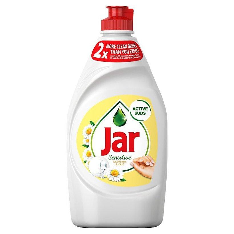 Jar Sensitive Chamomile & Vitamin E Prostriedok Na Umývanie Riadu, 450 ml