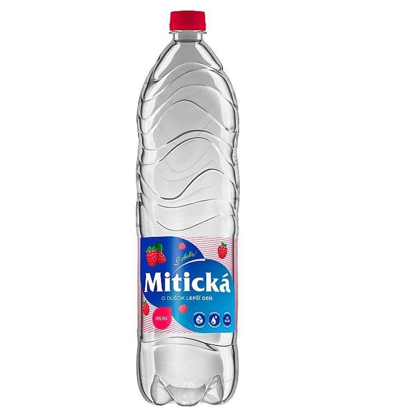 Mitická Malina sýtený nealkoholický nápoj 1,5 l