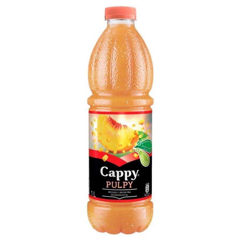 Cappy Pulpy Broskyňa 1 l