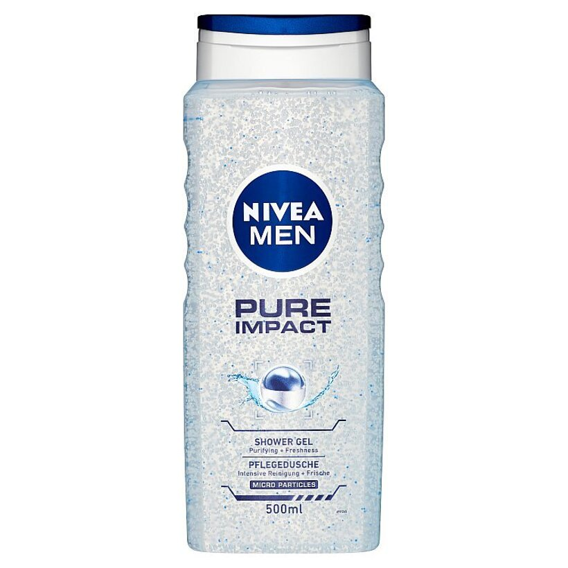 Nivea Men Pure Impact Sprchový gél 500 ml