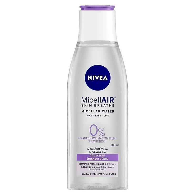 Nivea MicellAir Upokojujúca micelárna voda pre citlivú pleť 200 ml