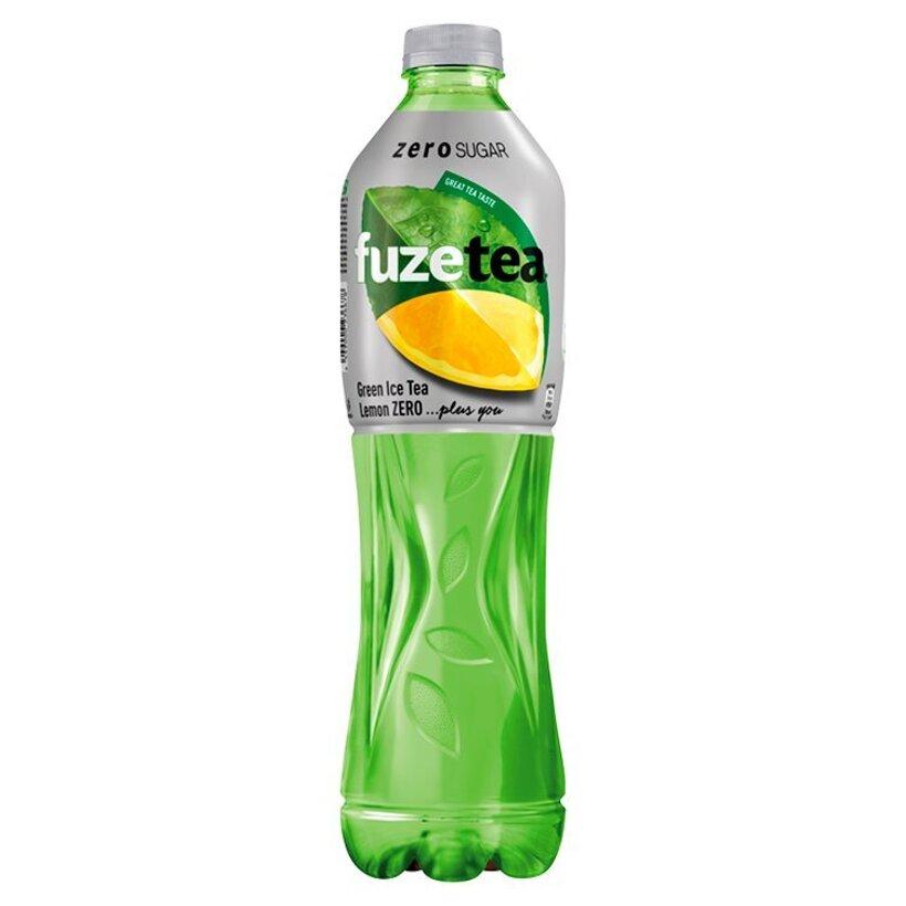 FuzeTea Lemon Zero zelený ľadový čaj 1,5 l