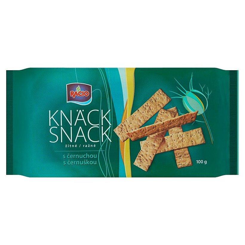 Racio Knäck Snack Ražné s černuškou 100 g