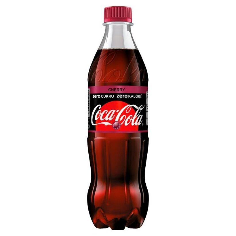 Coca-Cola Zero, Cherry, 500 ml
