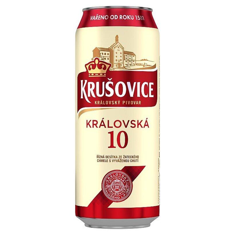 Krušovice Královská 10 svetlé výčapné pivo