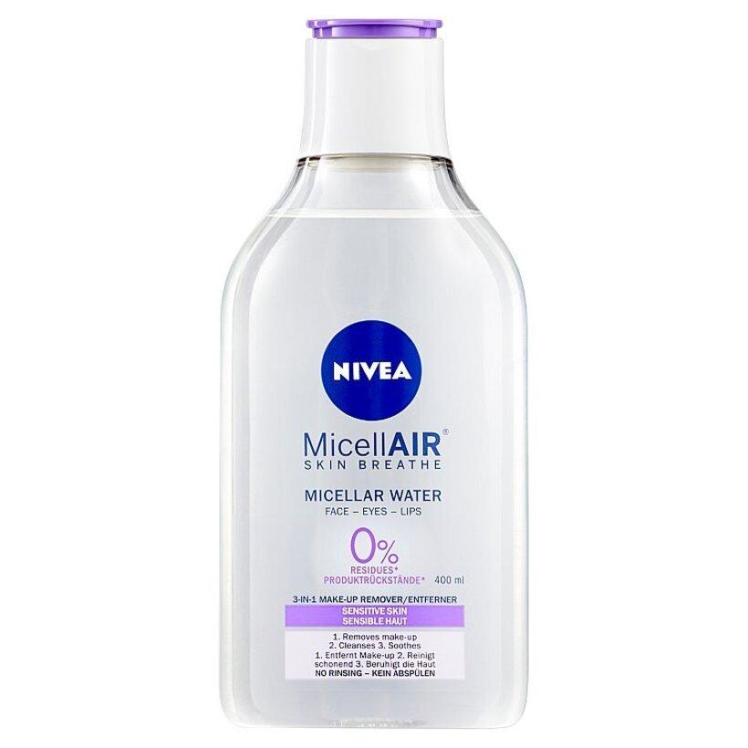 Nivea MicellAir Upokojujúca micelárna voda pre citlivú pleť 400 ml