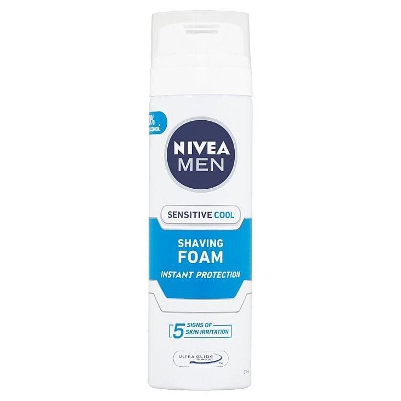 Nivea Men Sensitive Cool Pena na holenie 200 ml