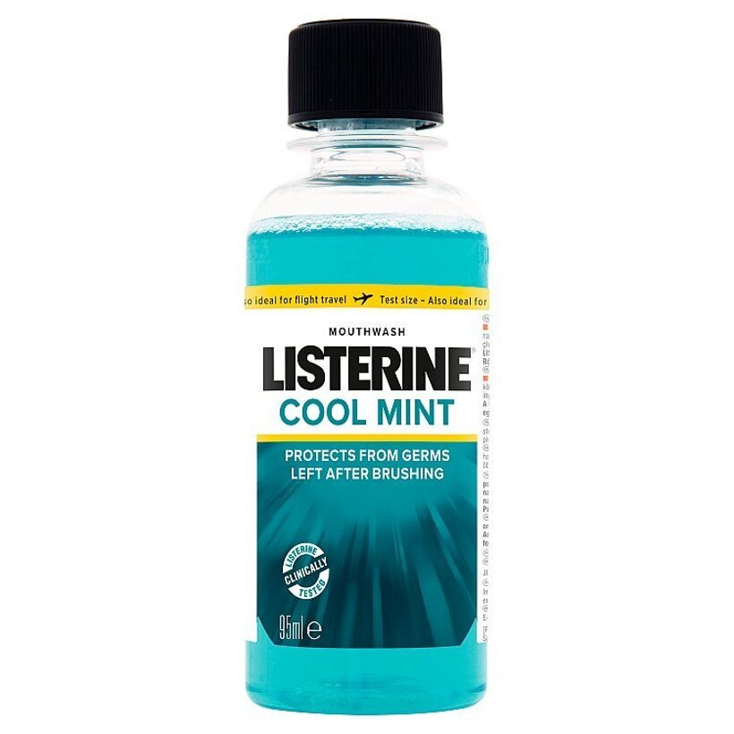 Listerine Cool Mint ústna voda 95 ml