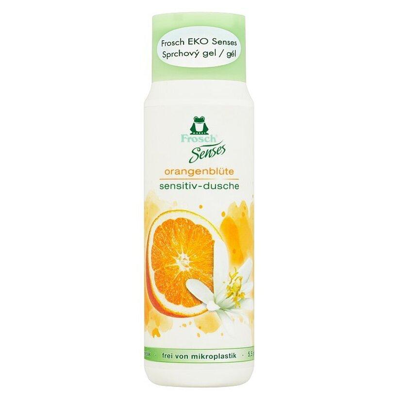 Frosch EKO Senses sprchový gél kvet pomaranča 300 ml