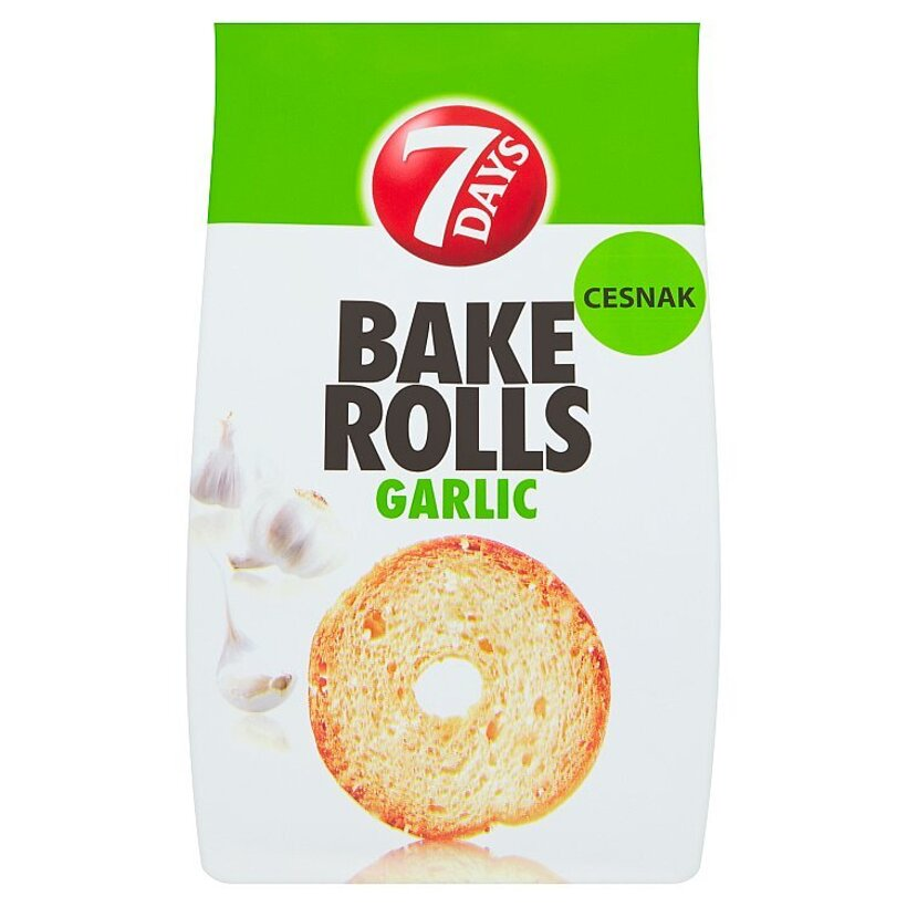 7 Days Bake Rolls cesnak 80 g