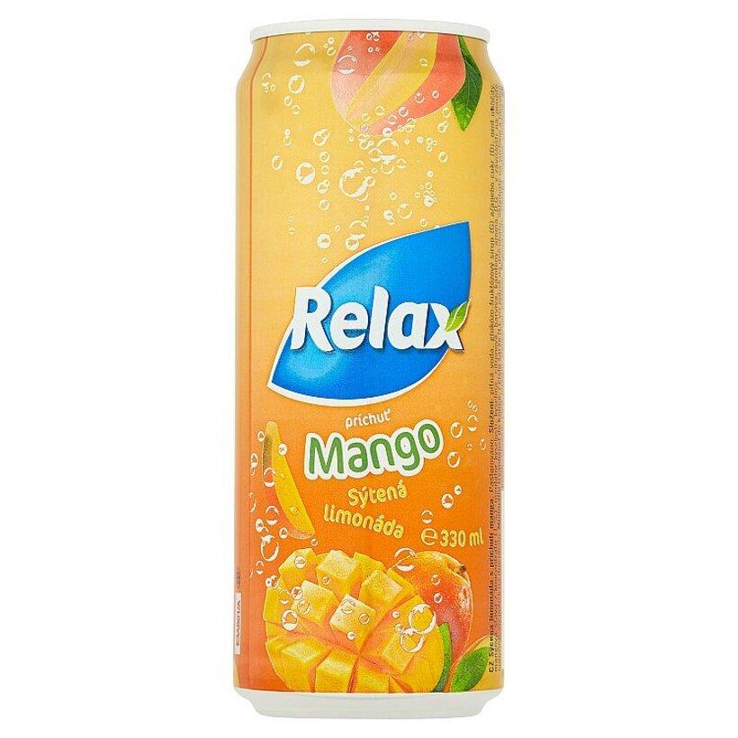 Relax Limonáda MANGO 330 ml
