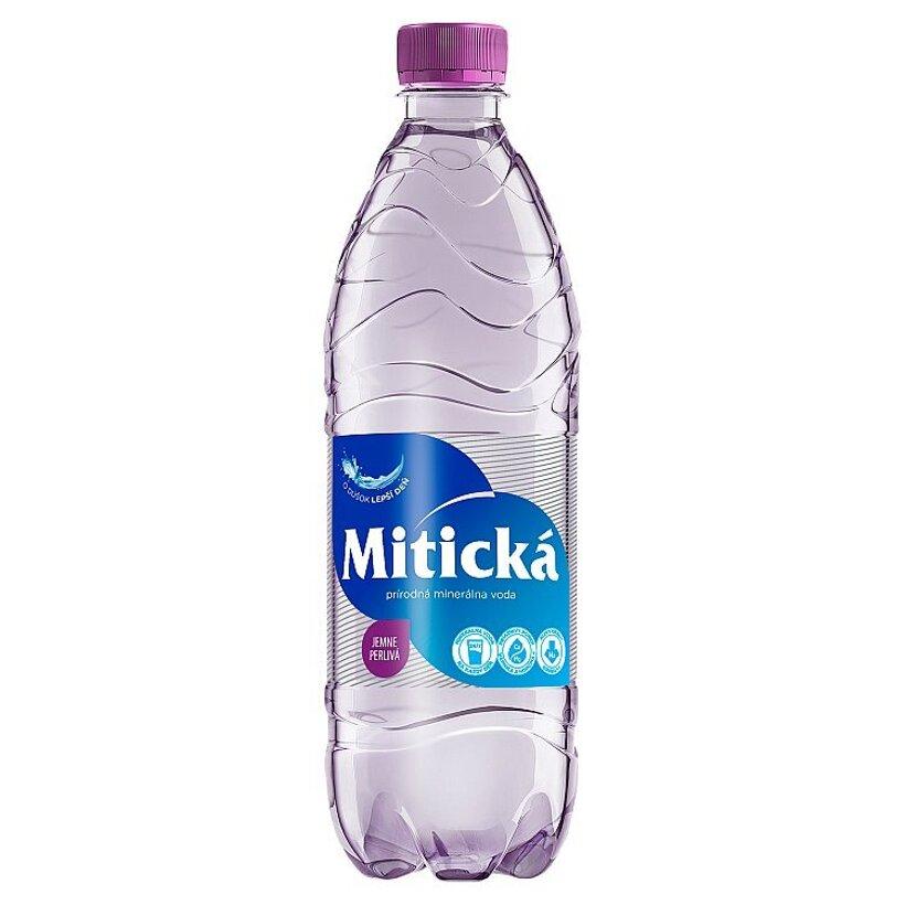 Mitická Prírodná minerálna voda jemne perlivá 0,5 l