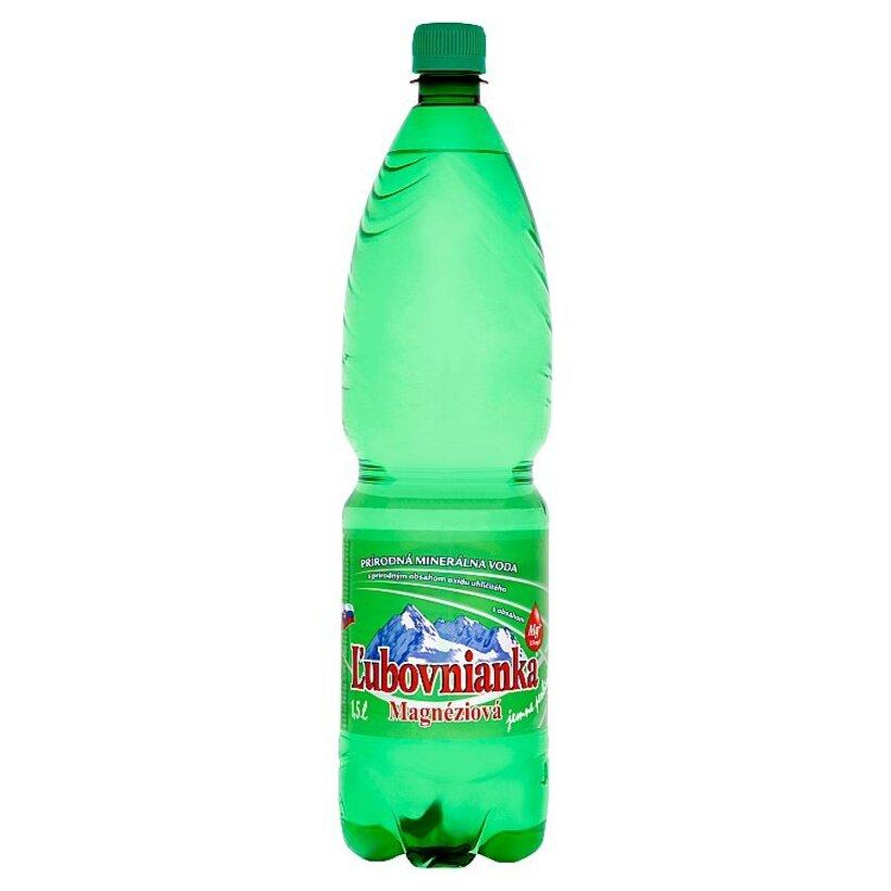 Ľubovnianka Magnéziová prírodná minerálna voda jemne perlivá 1,5 l