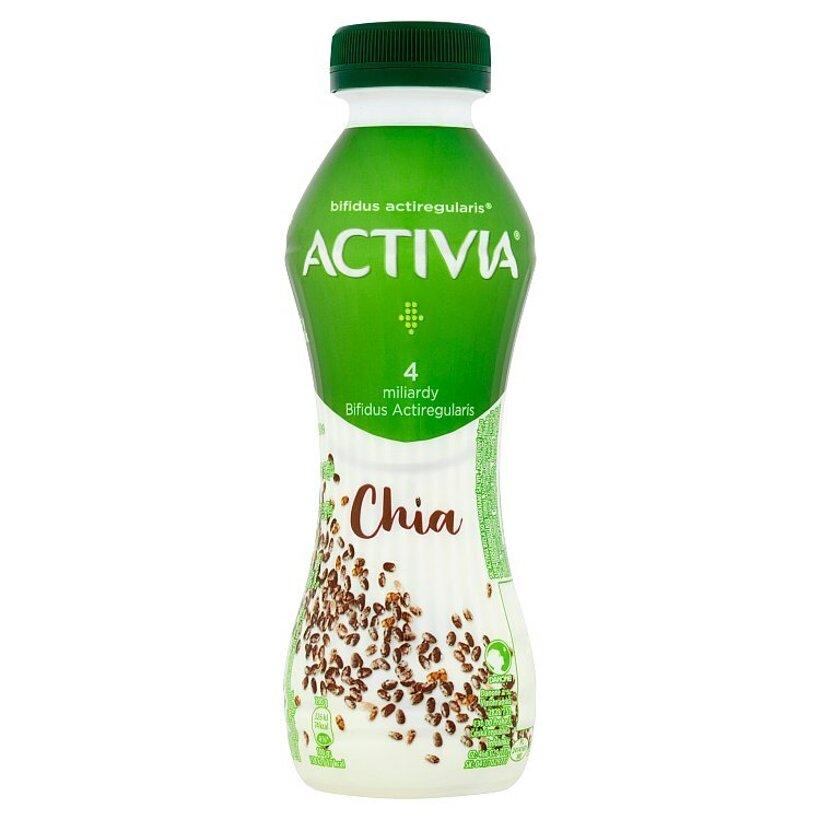 Danone Activia Biela so semenami šalvie jogurtový nápoj 280 g