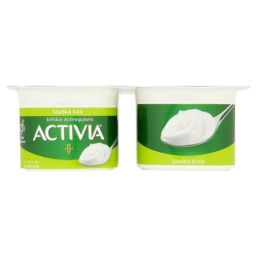Danone Activia Jogurt sladká biela 4 x 120 g