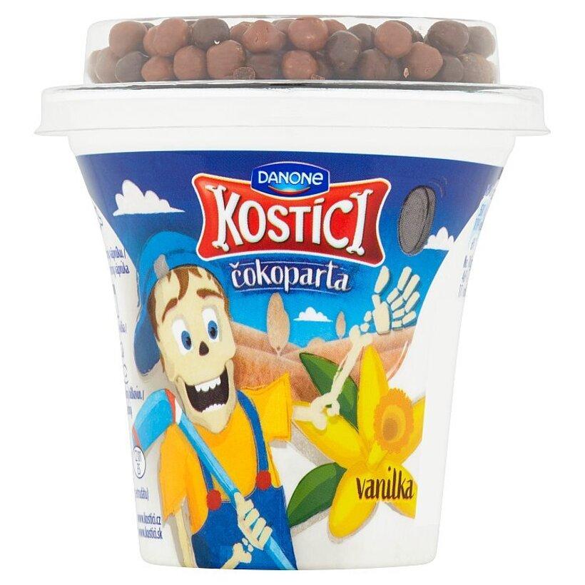 Danone Kostíci Čokoparta jogurt vanilka 107 g