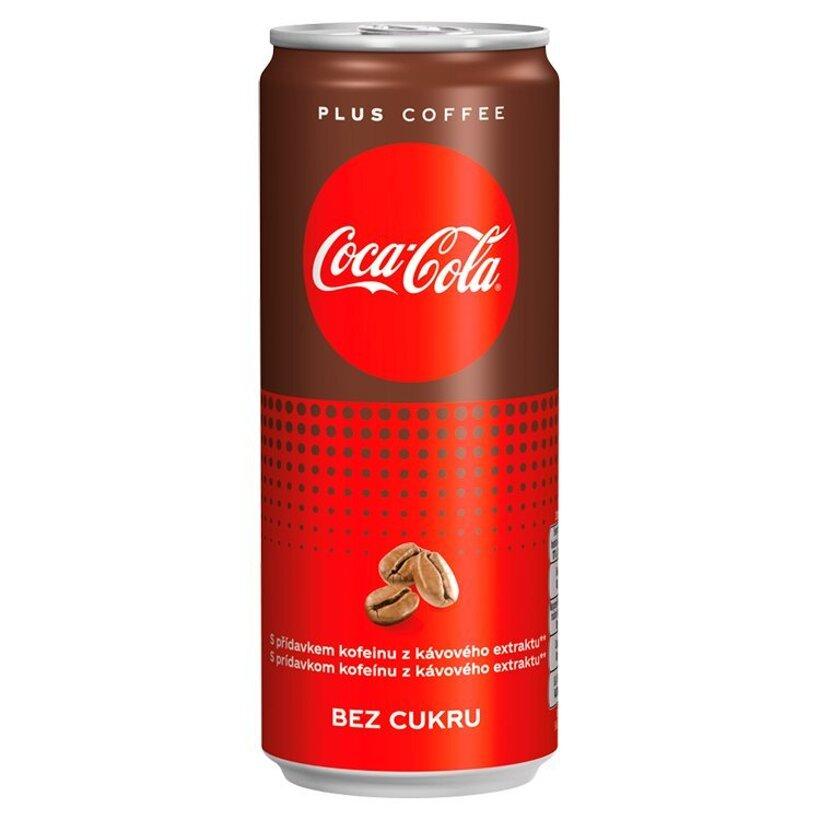 Coca-Cola Plus Coffee, 330 ml